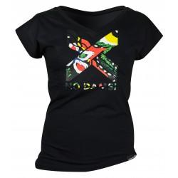 T shirt No Dam's Sandiline Femme